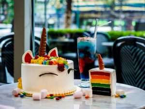 Unicorn Cake at Le Macaron at Sofitel Bangkok Sukhumvit